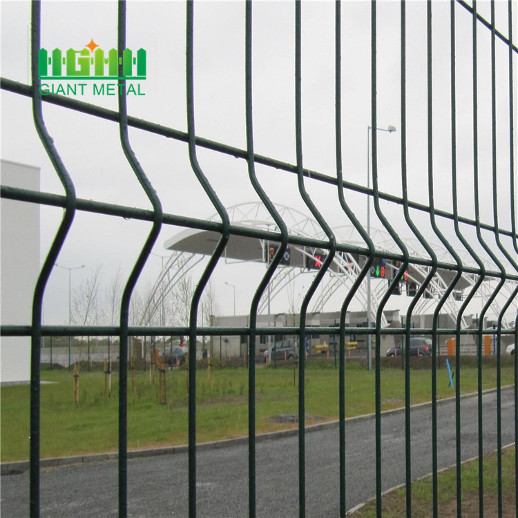 powder coated welded wire mesh fence China Manufacturer