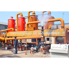 Hot selling sludge oil carbonization project rural plant vines charcoal furnace