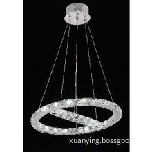 Delicate Designing Indoor Lighting LED Crystal Pendant Light