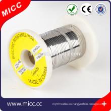 MICC resistencia brillante alambre de calefacción Ni70Cr30