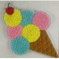 Multicolor Icecream 2019 Chenille Patch für Kinderbekleidung