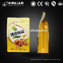 Snack Food Viererkabel Siegel Lebensmittel Verpackung Tasche, Kunststoff Einkaufstasche