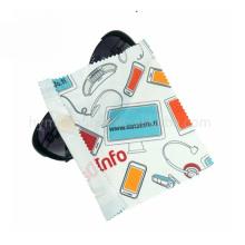 Logotipo personalizado joyas gafas microfibra paño de limpieza