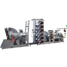 Máquina de impressão de etiquetas flexográficas de logística