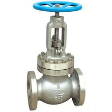 Shanghai POV made JIS 10 bar flange end manual globe valve with standard port size