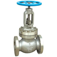 Shanghai POV made JIS 10 bar flange end manual globe valve with standard port size
