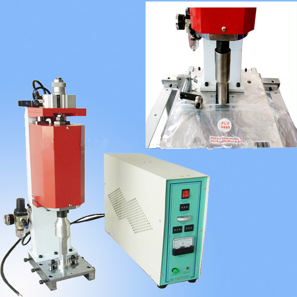 Ultrasonic Slider Ziplock Bags Welding Machine