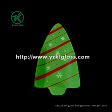 Single Wall Color Glass Plate by SGS (KLP120912-57B)