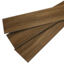 Pisos comerciais de madeira profunda em relevo à prova de fogo