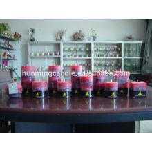Bougies Huaming / Vente en gros de bougies blanches / bougie à gros pilier pour décoration de maison