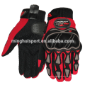 Minghui good quality riding gloves hot sales karting racing motorcycle gloves
