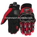 Minghui boa qualidade luvas de equitação luvas quentes da motocicleta de corrida de karting de vendas