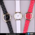 top fashion quilt strap quartz watch