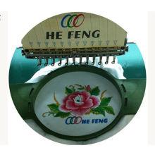 T-shirt Single Head bordado máquina, el más bajo consumo máquina de bordado de consumo