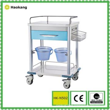 Equipo médico para el carro del tratamiento del hospital (HK-N502)
