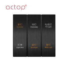 Сенсорный переключатель Actop из нержавеющей стали с ключом