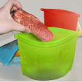 Vacuum Silicone Food Storage Bag Set