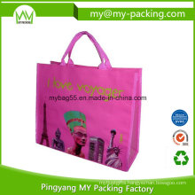 Eco Advertising BOPP Laminated PP Woven Promotional Bag