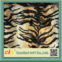 2014 nouveau design de haute qualité à faible prix imprimé velours tissu