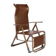 Indoor/outdoor use rattan wicker waterproof durable relaxer chair, exquisite design