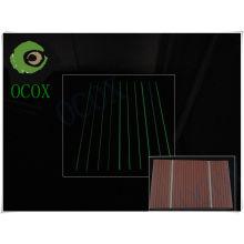 Plancher de Decking de WPC de lumière fluorescente