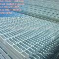 Placa de grão de aço hexagonal galvanizado, grade de drenagem de aço inoxidável galvanizado, piso de grade galvanizado