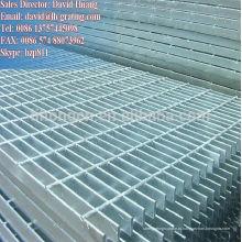Оцинкованная решетка с шестигранной решеткой, оцинкованная тяжелая дренажная решетка, оцинкованная сетка