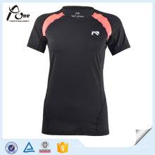 Women Wholesale T-shirt à sec rapide Vêtement de yoga