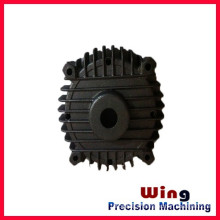 customized die casting polishing motorcycle engine parts