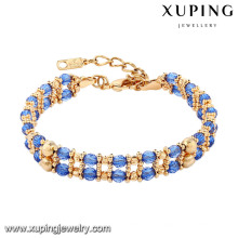 74357 Bracelet Femme Simple Avec Bon Plaqué