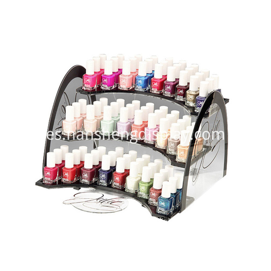 nail polish display stand organizer