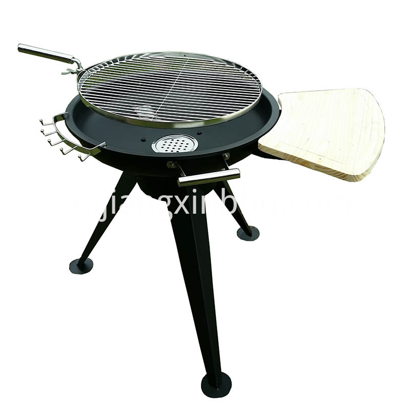 Huge Adjustable Charcoal Bbq Grill