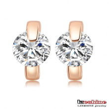 Mode Zircon Huggie Ohrringe für Frauen (CER0195-A)