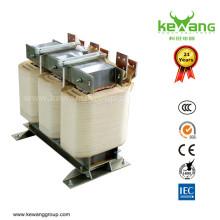 Настраиваемый трансформатор напряжения с фазовым напряжением 450 кВА 3 фазы