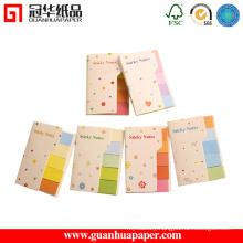 Candy Stripe Cute Shape Notepad