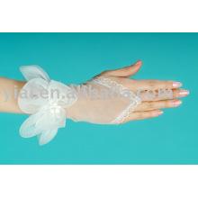 2013 luva de noiva sem dedos comprimento do pulso 003