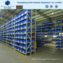 Galvanized Steel Roller Warehouse Self Slide Rack