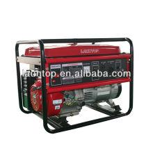 5.0kw Launtop gerador de LPG com refrigerado a ar, motor de 4 tempos