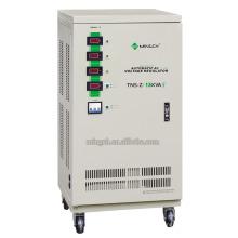 Personalizado Tns-Z-15k Tres fases de la serie Voltaje de CA totalmente automático Regualtor / Estabilizador
