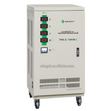 Настраиваемая серия Tns-Z-15k с тремя фазами Полностью автоматическое регулирование напряжения / стабилизатор напряжения переменного тока