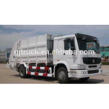 6x4 RHD Sinotruk HOWO garbage truck / compact garbage truck / howo dustbin truck / compressed truck
