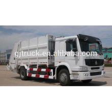 6х4 ПРАВОРУЛЬНЫЕ тележки sinotruk HOWO перевозит на мусоровоз / компактный мусоровоз / грузовик HOWO перевозит на свалку / сжатый грузовик