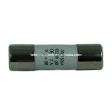F-1038C-01 Consumer Electronic Ceramic 500V 10x38 Cylinder Fuse