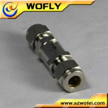 """3000PSI Alta presión de acero inoxidable 316 1/4 """"válvula de retención"""