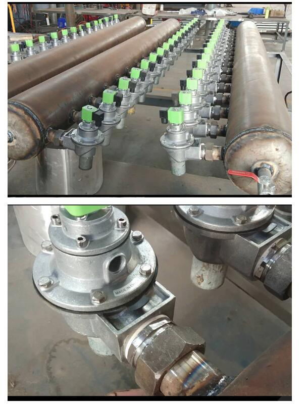 Application of DMF-Z-62S pulse diaphragm valve in steel industry converter gas purification