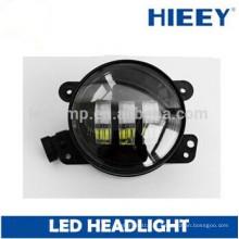 Phares à LED de 4 pouces, feux de brouillard à LED ronde de 4 po, lampe antibrouillard à led, phare avant Motocycle