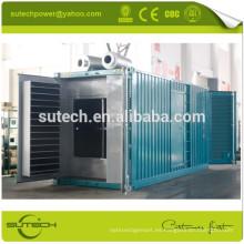 Generador diesel de 1mw en contenedor con motor CUMMINS KTA50-G3, tipo contenedor o tipo abierto