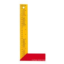 300 Mm Aluminum Yellow Paint Square Ruler