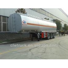 Tri-axle 30000litres semi reboque cisterna de petróleo em Ruanda