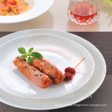Novo design unbreakable 11pcs porcelana china dinnerware conjuntos